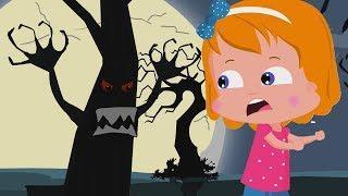Страшные леса Хэллоуин рифмы Детские песни Kids Halloween Songs Scary Woods Behind My House