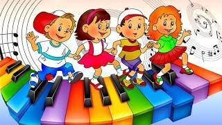 ДЕТСКАЯ МУЗЫКА ДЕТСКОТЕКА 2017 Мини-диско Детские танцы Песни Музыка Онлайн