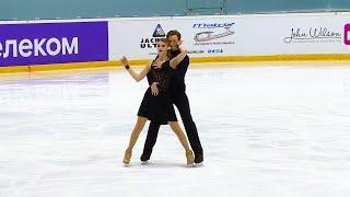 Произвольный танец Танцы на льду Кубок России по фигурному катанию 2020 Четвертый этап
