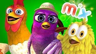 Птичка Гайта, Цыплёнок Пи и много других видео детские песни Детское Королевство