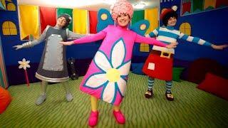 Чударики - Самолет ( детская зарядка, физминутка ) - Детские песни.