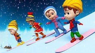 Новогодние и рождественские песни для детей: Гостья зима, Дед Мороз, В Лесу Родилась Елочка