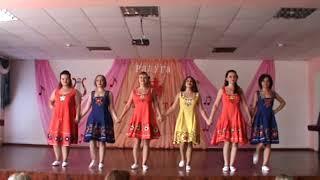 Школа №8. Русский народный танец в современной обработке