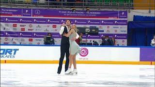 Ритм-танец Танцы на льду Москва Кубок России по фигурному катанию 2020 Второй этап