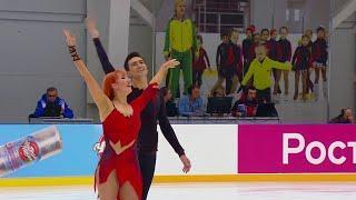 Произвольный танец Танцы на льду Сочи Кубок России по фигурному катанию 2020 Третий этап