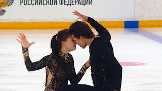Произвольный танец Танцы на льду Кубок России по фигурному катанию 2020