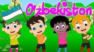 O'zbekiston Uzbek Kids Son Узбекские детские песни Болалар учун кушиклар