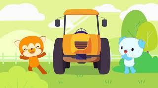 Детские песенки Bingo Учим буквы Развивающие мультики для детей и малышей