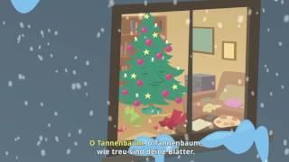 Песенка на немецком языке про елочку Детские песенки