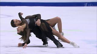 Габриэлла Пападакис - Гийом Сизерон Произвольный танец Чемпионат Европы по фигурному катанию