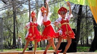 """Праздник весны / Русский-народный танец. Танцевальное шоу """"ДЕЖАВЮ"""" г.Выкса"""