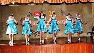 Русский народный танец))) Ромашка