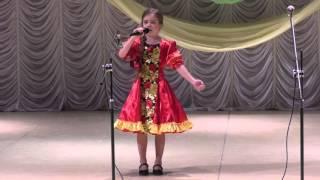 Конкурс народной песни Семёнова Ксения