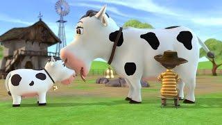 Корова Зорька Детские песни Развивающие мультфильмы для детей