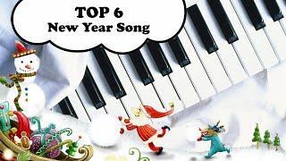 КРАСИВЫЕ ПЕСНИ НА ПИАНИНО Новогодние и Рождественские мелодии TOP New Year Song piano Christmas