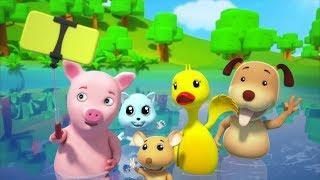 Времена года песня для детей Питомник рифмы Детские песни Seasons Song Toddlers Songs