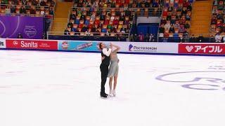 Ритм-танец Танцы на льду Rostelecom Cup Гран-при по фигурному катанию 2020
