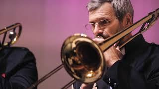 Концерт Губернаторского духового оркестра в честь 75-летия Филармонии Кузбасса. KuzbassVideo.ru