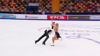 Произвольный танец Танцы на льду Rostelecom Cup Гран-при по фигурному катанию 2020