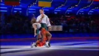 Алексей Воробьёв и Татьяна Навка Второй танец на льду