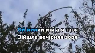 ОЙ У ВИШНЕВОМУ САДУ КАРАОКЕ гурт ЕКСПРЕС